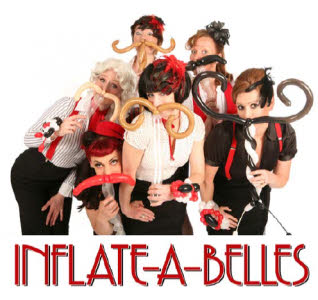 Inflate-a-Belles balloon modelling group