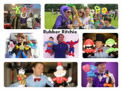 Rubber Ritchie balloon Modeller