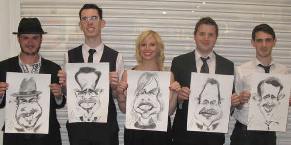 Chris Pavlick range of caricatures