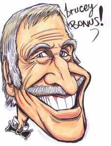 Bruce Forsyth by Rich Russell