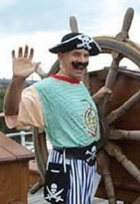 Pirate Pete - ready to entertain