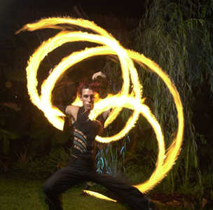 Flame Oz, fire performers for Cultural events.