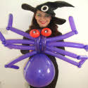 Halloween Balloon Modellers from circusperformers.co.uk and aurorascarnival.co.uk