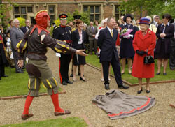 Peterkin meets the Queen.