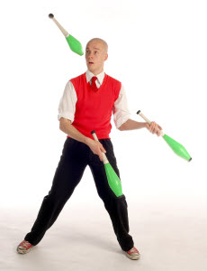 club juggling