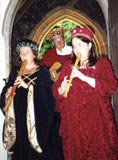Minstrels Gallery provide Medieval music for weddings.