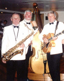 Stripes and Whites, jazz trio for weddings, receptions, dances etc.