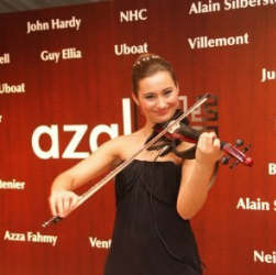 Olga D, The Ultimate Violinist for corporate events