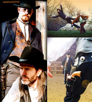 Stunt Action Specialists - SAS - Wild West Gunslingers