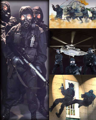 Stunt Action Specialists - SAS - Special Forces