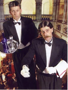 Jeeves & Mortimer - Add a touch of class to any occasion with these gentleman's gentlemen.