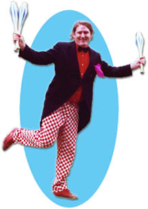 Fuzzy - Juggling Entertainer from Glasgow