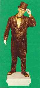 Jason Maverick, Golden Doorman statue