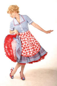 Agatha Twist 1950's housewife walkabout character