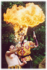 What  Palaver - Medieval fire breather