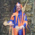Kris Katchit - juggler, stiltwalker for medieval banquets, weddings etc from circusperformers and Auroras Carnival