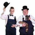 The Top Lookalikes, Laurel & Hardy, magicians  from circusperformers.co.uk and Auroras Carnival