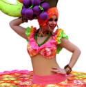 Living Tables, Carmen Miranda,chefs, waiters etc  from circusperformers.co.uk and Auroras Carnival