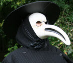 The Plague Doctor from circusperformers and Auroras Carnival